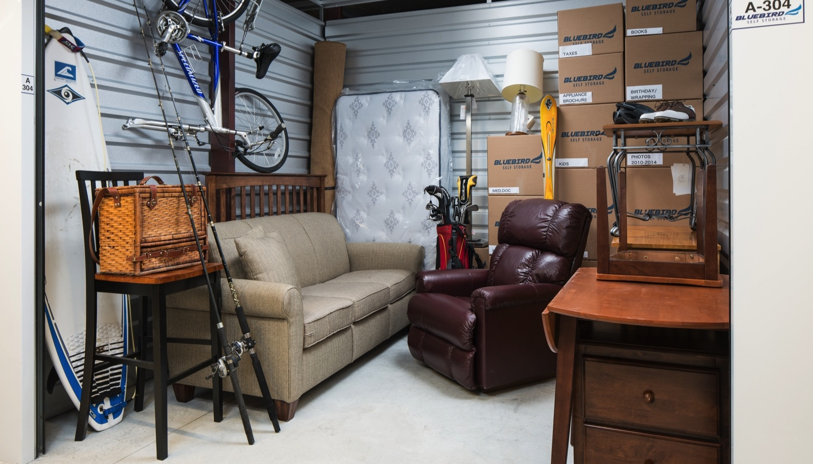 Furniture Storage - Choosing the Right One