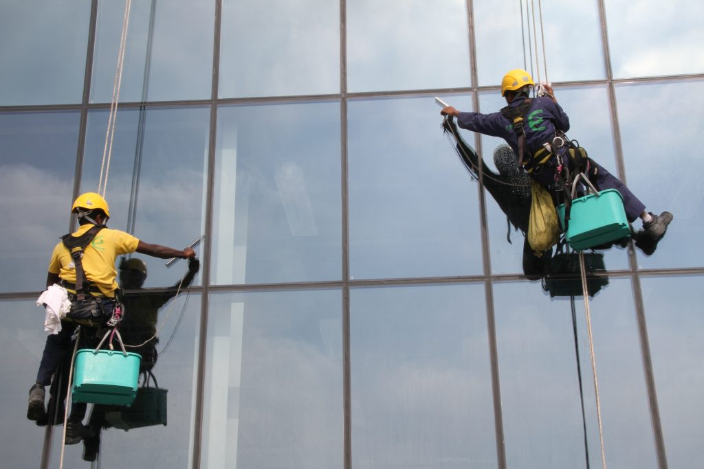 What is Rope Access Cleaning
