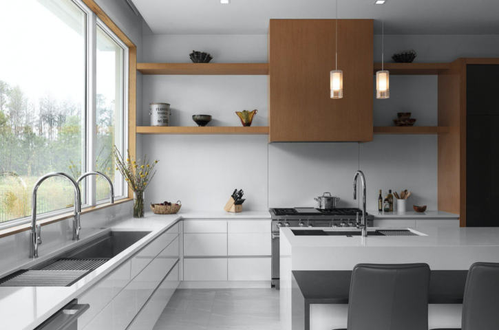 How to build a cutting-edge luxury modern kitchen